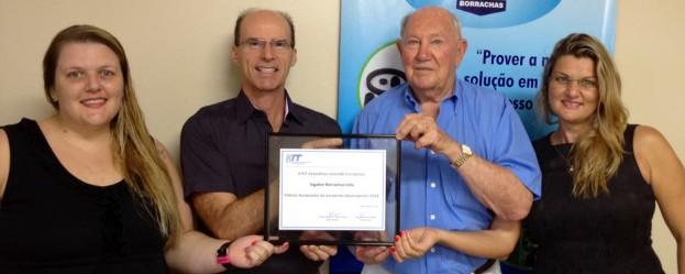 Premio Fornecedor De Excelente Desempenho Em 2014