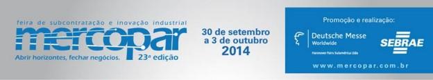 A Ingabor Estará Expondo Na Feira Mercopar/2014